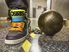 Osiris Ball n Chain (Boots Collared) Tags: osiris skateshoes sneakers hightops irons legirons