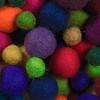 balls o' felt (dotintime) Tags: balls felt felted processed orb round sphere fuzz fiber color hue tint dotintime meganlane
