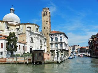 2013.05.27.020 VENISE - Sestiere di Cannaregio -  San Geremia, le Palazzo Labbia et le rio Cannaregio