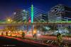 Taramani Bridge (crmdanielroy) Tags: danielroyphotography night lights cityscape bridge taramani thiruvanmiyur chennai tamilnadu