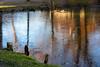 Sonne_und_Eis_WAR_1273 (relgor) Tags: 2017 2017dezember dezember eis kälte leopoldskronerweiher salzburg schlossleopoldskron sonnenuntergang spiegelung wasser weiher ice icebound kalt pond war51gmxat winter ©wilfriedrogler österreich