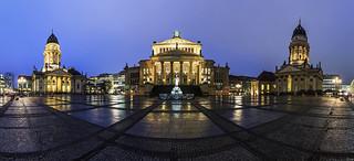 Gendarmenmarkt Panorama @rain