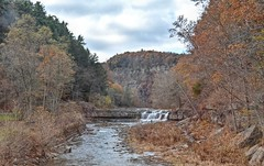 Enjoying The View! (☁❅Jo Zimny Photos❅☁) Tags: theflickrlounge wk3 small taughannockfallsstatepark fall autumn colours water gorge
