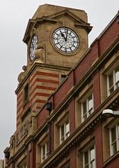 C.W.S., Manchester, UK (Robby Virus) Tags: manchester england uk unitedkingdom britain greatbritain cooperative wholesale society building architecture stone brick cws clock