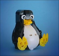 1 TUX (timofey_tkachev) Tags: lego moc linux tux afol