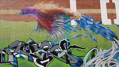 Resio & Chuck Mayfield... (colourourcity) Tags: streetart streetartaustralia streetartnow graffiti graffitimelbourne melbourne burncity awesome nofilters colouurourcity resio chuck cuckmayfield