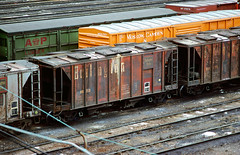 CB&Q Class HC-1B 181719 (Chuck Zeiler) Tags: cbq class hc1b 181719 burlington railroad covered hopper freight car cicero train chuckzeiler chz