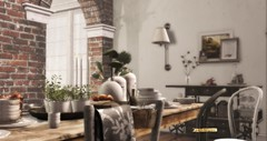 Beautiful Estate (lamodeparlafatale) Tags: applefall bellarose scarlet creative