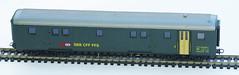 RD15136.  Lima EW II Gepäckwagen. (Ron Fisher) Tags: sbbcffffs modelrailway modelleisenbahn railwaymodels lima hogauge ho swissrailways