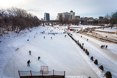 Winter at the Forks (pong0814) Tags: canon eos 5dii dslr photography ef1740f4l ultrawide zoom outdoors winnipeg manitoba canada winter winterwonderland forks ice snow skating skatetrail hockey icehockey sports february 2018 cold