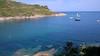Porto Azzurro (W@nderluster) Tags: sea mare blu cliff scogliera scogli vacanza holiday travel tuscany toscana italy ship italia exploring beach water