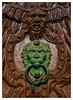 Door Art (FocusPocus Photography) Tags: tür door eingang entrance holz metall metal türklopfer doorknocker schloss palace ludwigsburg alt old wood