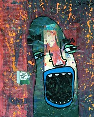 I Not Only Believe It (Marc-Anthony Macon) Tags: art dada dadaism dadaist dadaísmo outsiderart folkart rawart popart surrealism intuitiveart