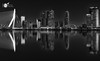 """Skyline sessions """"The reflection"""" (Robert Stienstra Photography) Tags: longexposure longexposurephotography cityscape cityscapes slowshutter nightscapes nightshots nightlife nightscape reflections reflecting reflectie water waterscape waterscapes blackandwhite blackandwhitephotography bridge buidling architecture architectural mono monochrome monochromephotography atnight travel travelling bigcity"""
