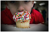 My Cupcake (Silverio Photography) Tags: canon 60d 24mm pancake primelens topaz adjust photoshop elements hdr portrait faceless northend boston cupcake food