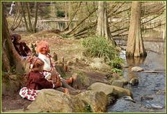 Kindergartenkinder ... wo sind alle meine Enten ... (Kindergartenkinder) Tags: kindergartenkinder annette himstedt dolls annemoni milina sanrike tivi