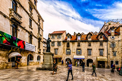 Split, Croatia (Kevin R Thornton) Tags: d90 2017 travel city split croatia europe architecture mediterranean splitskodalmatinskažupanija hr