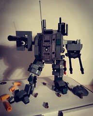 "German Light Mech ""Cougar"" 1949 (GiancasStick) Tags: lego print uv custom ww2 torso usa bricks brick mania army best war german mini figures minifigure digital soldier design mech"