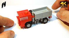 How to Build a Three Studs Truck (MOC - 4K) (hajdekr) Tags: lego buildingblocks assemblyinstructions guide buildingguide tuto tutorial tip help tips stepbystep inspiration design manual moc myowncreation instruction instructions toy model buildingbricks bricks brick builder buildingtoy truck semitruck easy simple simply easily basic junior vehicle car automobile forkids child children threestuds studs platform cab cabine tractor micro microscale custom brickarch flashlight