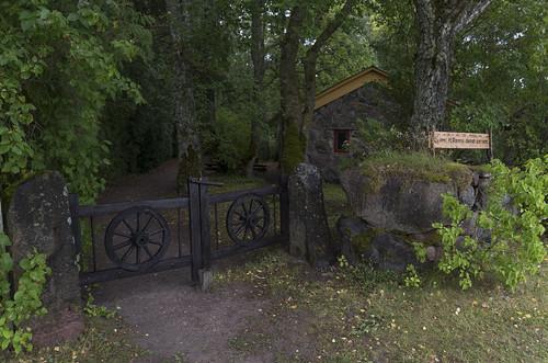 Mihkel Ranna dendraariumi väravad, 25.08.2017.