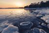 Uutela Vuosaari (Bunaro) Tags: uutela vuosaari helsinki finland visitfinland suomi myhelsinki winter sunset colorful sky landscape snow ice sea waterscape