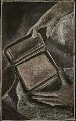 The Treasure Box (ArneKaiser) Tags: 4thgrade 5thgradefarewell autoimport boarddrawings edited endofyearshow languagearts mrkaisersclass pineforestschool thetreasurebox waldorf waldorfjourney chalk chalkboard chalkdrawings