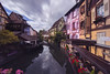 Colmar village (AlbertMu7) Tags: alsace colmar france albertmu photo paysage village sky view lights cloud canal channel north