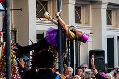 A Friday During Carnival, New Orleans Louisiana, February 9, 2018 (lovemardigras) Tags: louisiana frenchquarter february2018 mardigras neworleans carnival royalsonestahotel greasingofthepoles royalsonesta usa