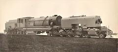 "India Railways - Bengal Assam Railway ""Beyer Garratt"" type 4-8-2+2-8-4 steam locomotive Nr. 680 (War Department Nr. 74224, Indian Railways Nr. 32082) (Beyer Peacock Locomotive Works, Manchester-Gorton 7140 / 1944) (HISTORICAL RAILWAY IMAGES) Tags: steam locomotive bp beyerpeacock garratt india railways wd bengal assam manchester gorton"
