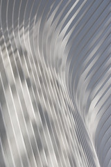 the white arcades (knkppr) Tags: newyorkcity oculus reflections blades vanes curve light shadow
