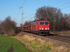 DB Cargo 155 107 (jvr440) Tags: trein train spoorwegen railroad railways salzbergen db cargo deutsche bahn br 155