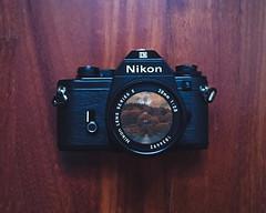 Nikon EM, 80s (martinaeffephotography) Tags: nikon em 80 80s 1980 photo photography photographer foto fotografia wood legno pavimento floor camera macchina fotografica obiettivo photoshop lightroom gimp fotomontaggio paesaggio landscape