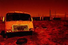1968 (The Dent.) Tags: nikon f3 redscale hawkeyesurveillancefilm australia port pirie