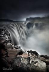 Gullfoss (dochema2000) Tags: ifttt 500px cliff riverbank water summer outdoors clouds travel waterfall rock iceland glacier