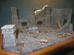 Chamber of Mazarbul (3) (Mangito1) Tags: lordoftherings herrderringe mazarbul moria dwarfs gimli gandalf