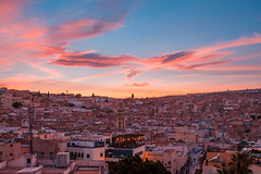 Fes Sunset (T is for traveler) Tags: travel traveler traveling tisfortraveler backpacker digitalnomad exploration explore adventure fes fez morocco sunset city medina epic color sky old canon 700d 1855mm journey