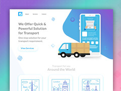 Logistics and Transportation Management Solution (intuzHQ) Tags: appdesign appdevelopment apponboarding ui ux webdesign logistics communicationplatform transportationapp digitalscm gpstrack