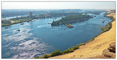 Aswan from above (Mohamed Essa) Tags: cityscape cityview river rivernile aswan thisisegypt egypt explore travelphotography travel