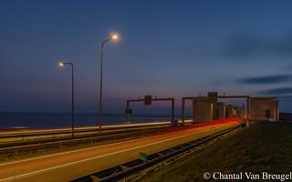Blauw uurtje Afsluitdijk
