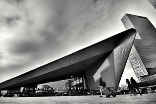 Rotterdam central train station