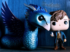Newt and the Occamy (Toxic Grenadine) Tags: funko pop newt scamander occamy fantastic beasts animaux fantastiques norbert dragonneau vinyl
