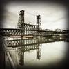 Steel Bridge (pete4ducks) Tags: boat portland oregon willametteriver modacenter steelbridge 2018 iphone