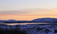 Þingvallavatn (Emmanuelle2Aime2Ailes) Tags: paysage islande lac leverdesoleil