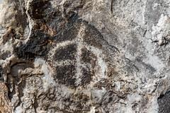 Peace (W9JIM) Tags: california unitedstates w9jim petroglyph rockart dvnp deathvalley 7d2 24105l