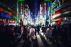 Night Tokyo illumination (Dmitry_Pimenov) Tags: tokyo tokyostreets shinjuku kabukicho city night nightlife street streets dark urban light lights olympus dmitrypimenov dipimenov colors colorful travel дмитрийпименов олимпус wideangle traveljapan япония токио пименовнапроводе