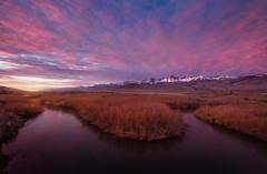 Big Pine River Bend (Piriya Pete Wongkongkathep) Tags: big pine owen river sierra mountain sunrise cloud