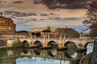Castel and bridge Sant' Angelo - Roma