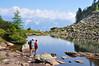 Wanderausflug zum Spiegelsee (Mariandl48) Tags: spiegelsee wanderausflug dachstein see alpenrosen reiteralm steiermark austria