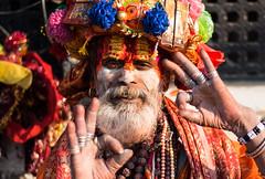 Sadhu in Pashupatinath (rfabregat) Tags: sadhu hindu hinduism pashupatinath holy portrait nepal nepalese kathmandu kathmanduvalley katmandu asia travel travelphotography nikon nikon750 nikond750 d750 nikkor nikkorlenses 50mm f18 antropology