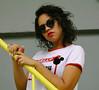 IMG_1267 (luizopng) Tags: amarelo azul athos bulcão woman hair style street ladder